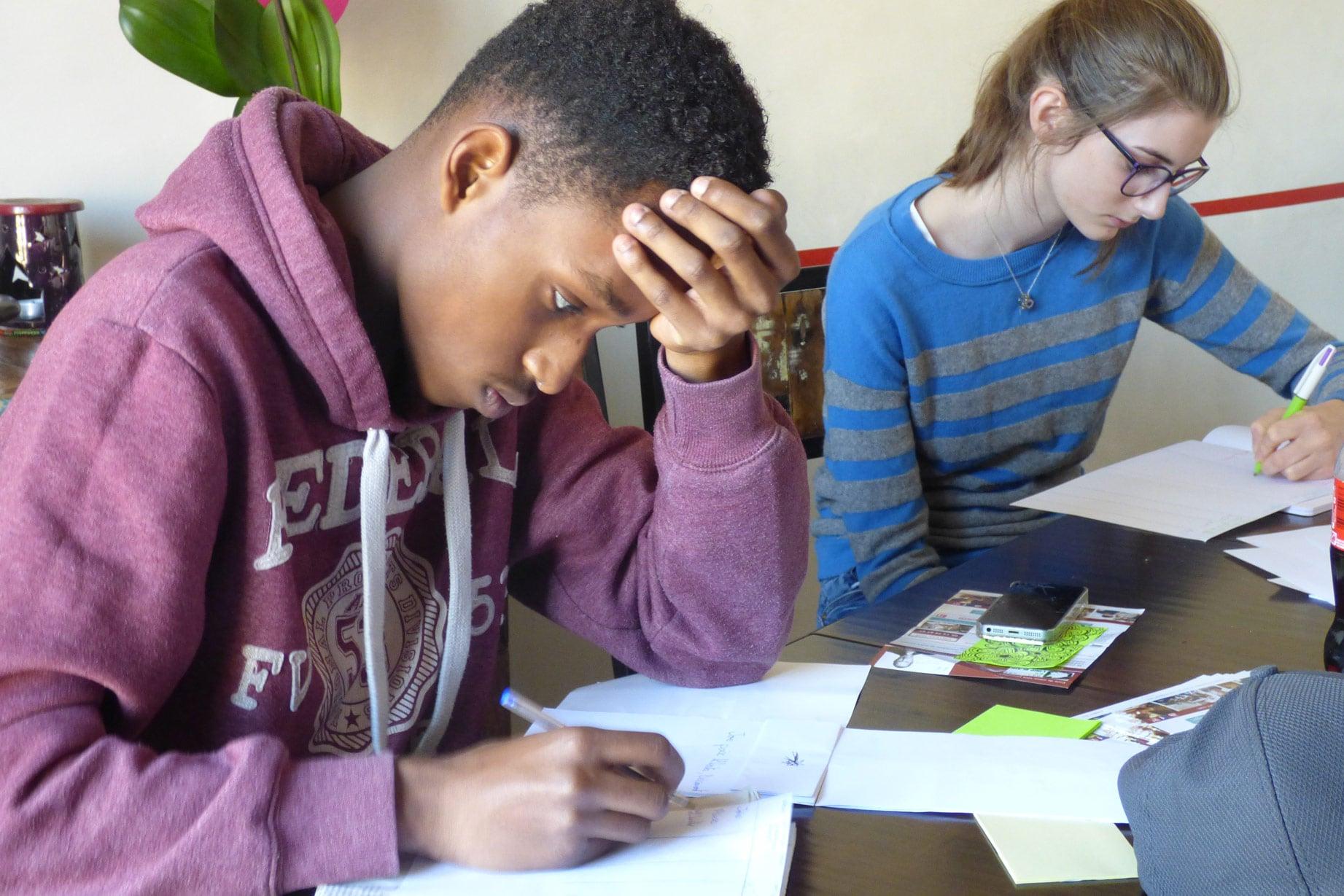 jeunes-concentres-sur-leur-travail-stages-Parcours-du-Loup-Blanc