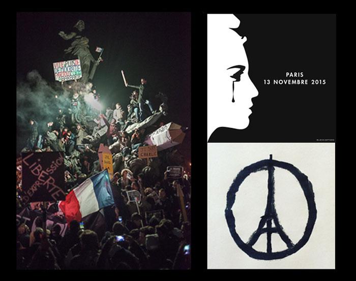 Liberte - #Parisattacks-#JeSuisCharlie
