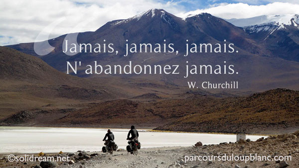 Churchill- citation perseverance-n-abandonnez jamais