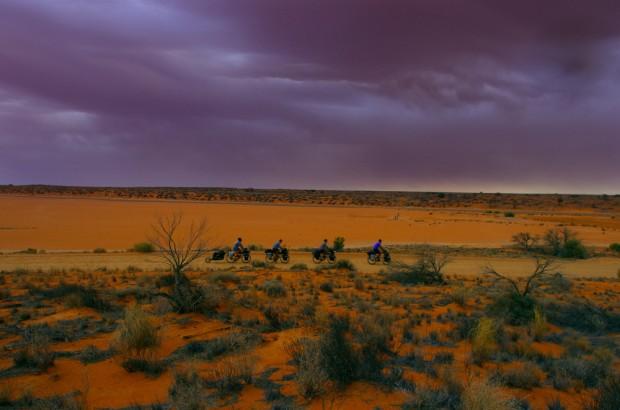 Solidream-Parcours du Loup Blanc- entretien motivation1-Outback australien