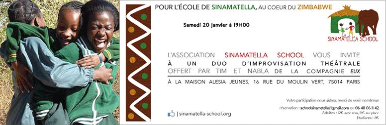 Vous êtes tous invités à la soirée annuelle de Sinamatella School