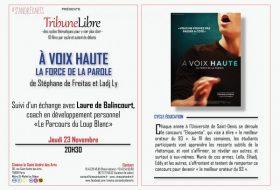 Tribune Libre au St André des Arts – A Voix Haute