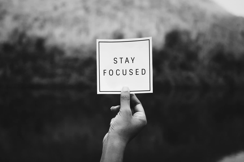 maintenir sa concentration en cours et rester focus