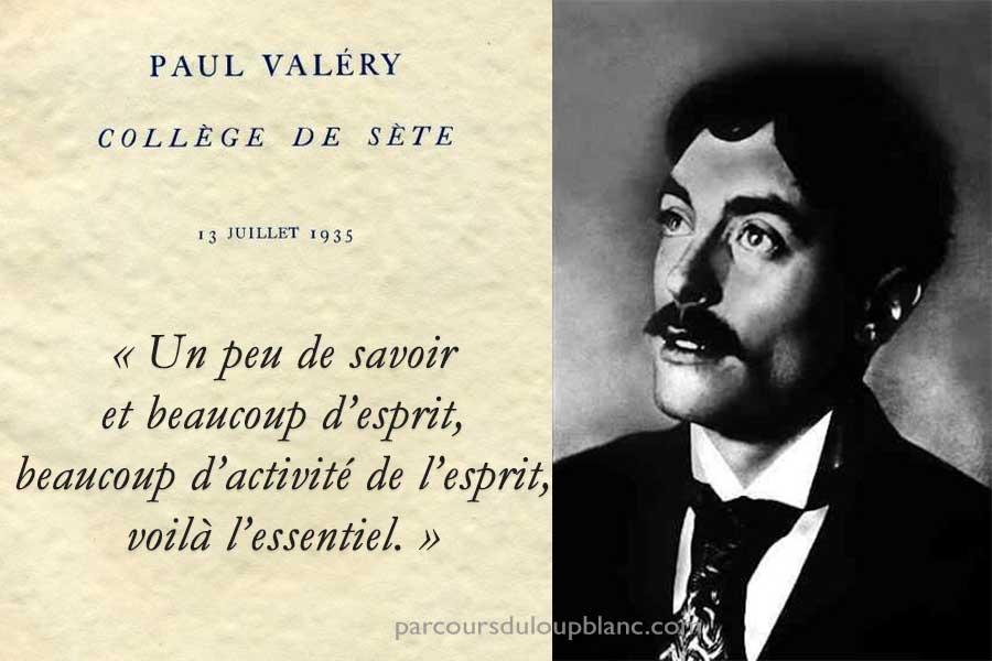 Paul Valery- Discours de Sète- 1935