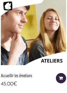 Atelier SOFT-SKILLS pour les jeunes - Accueillir les émotions
