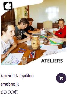 Atelier SOFT_SKILLS pour les jeunes - Régulation émotionnelle